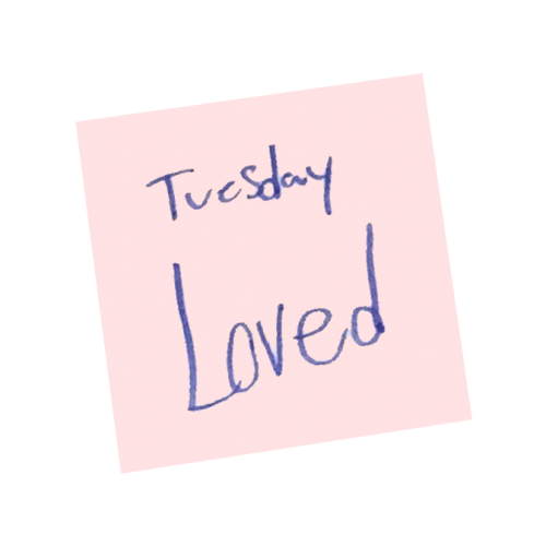 Word of the Day - Loved Tuesday