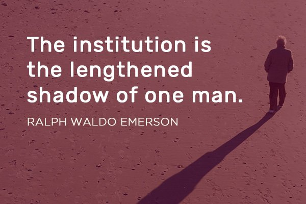 Pivot Seed Quote by Ralph Waldo Emerson Featured