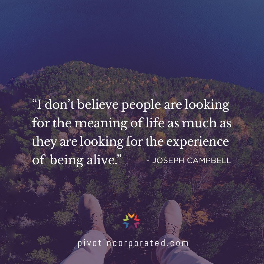 Joseph Campbell Seed Quote