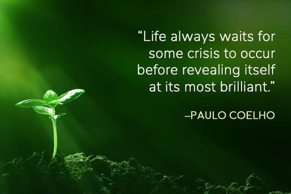 Paulo Coelho meditation moment