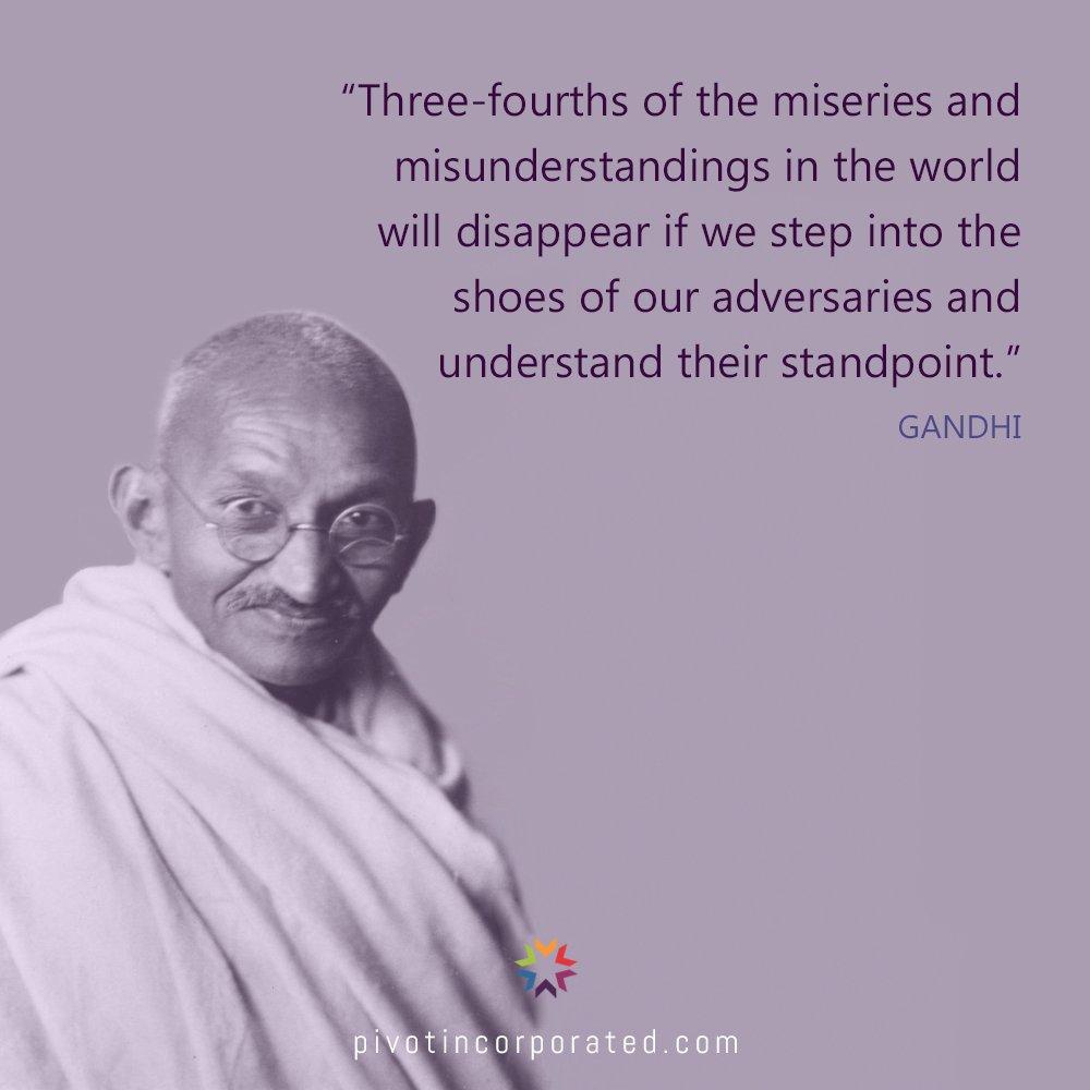 Meditation Moment From Gandhi