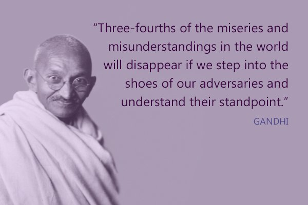 Meditation Moment From Gandhi