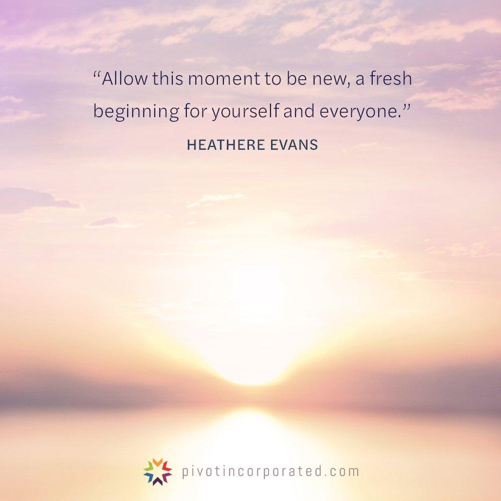 Meditation Moment on New Beginnings