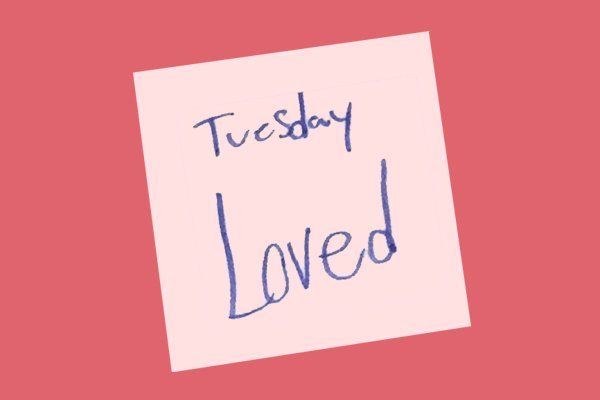 Word of the Day: Loved Tuesday