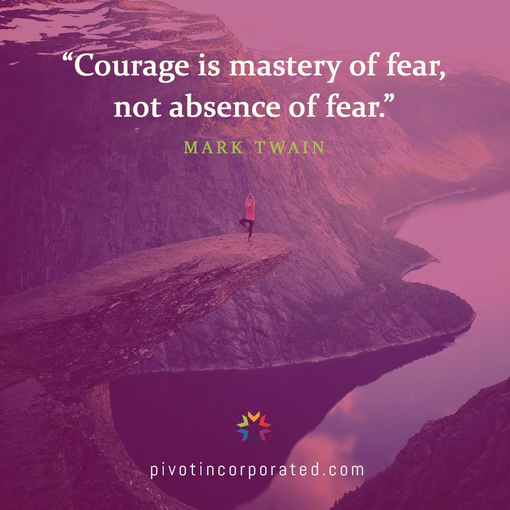 Pivot Seed Quote by Mark Twain
