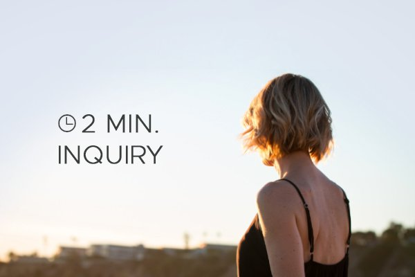 2 minute inquiry