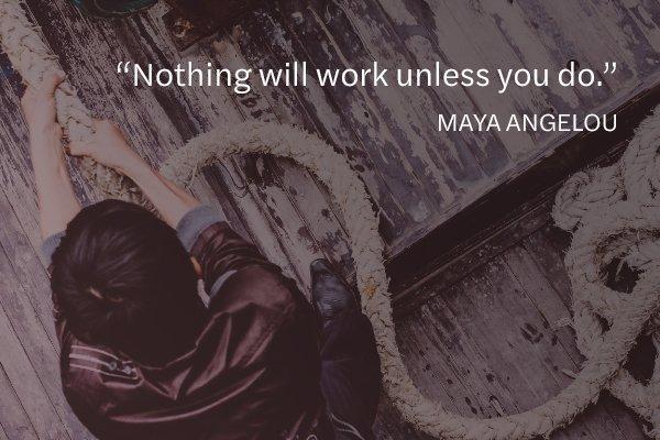 Meditation Moment from Maya Angelou