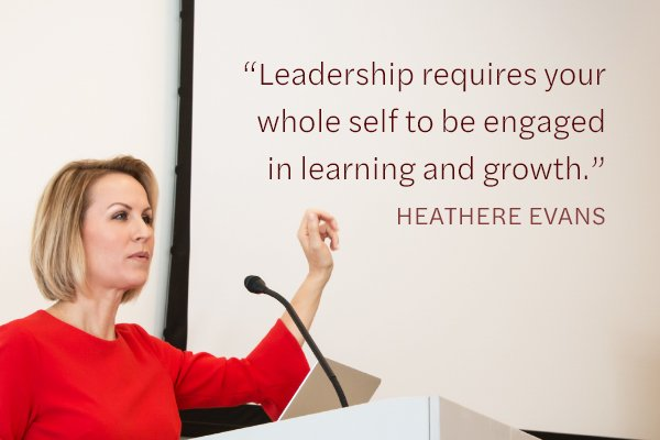Meditation Moment on Leadership by Heathere Evans