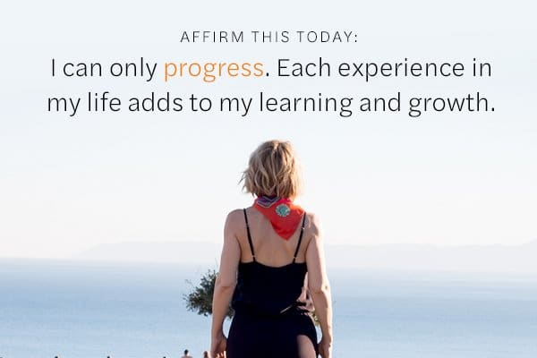 Affirmation on Progression