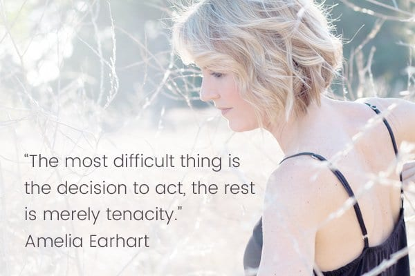 Meditation Moment From Amelia Earhart