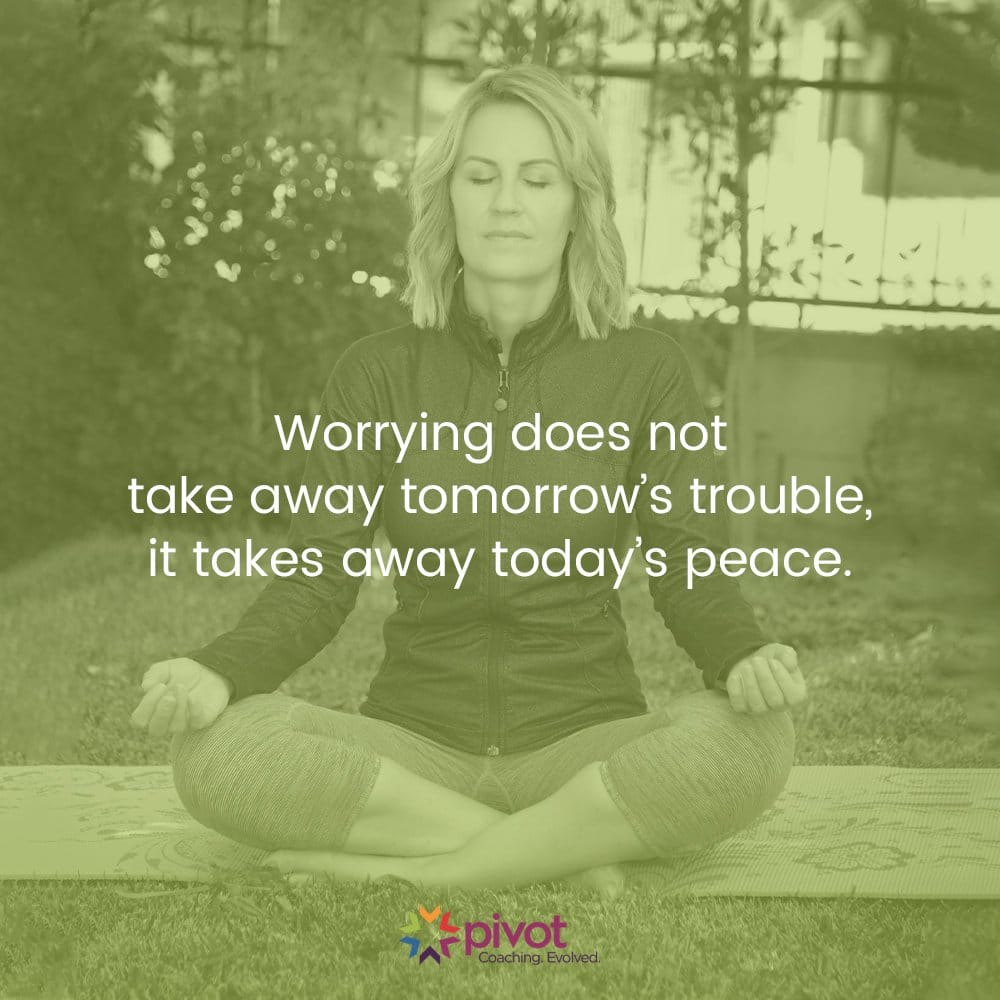 Meditation Moment About Worry