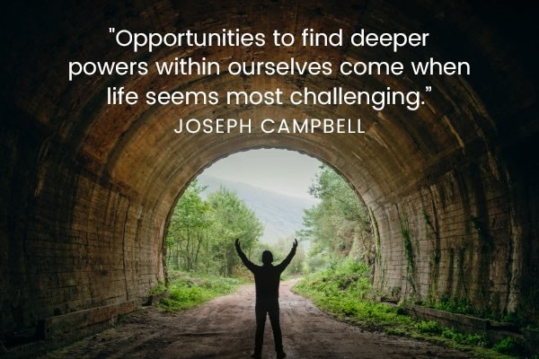 Meditation Moment From Joseph Campbell