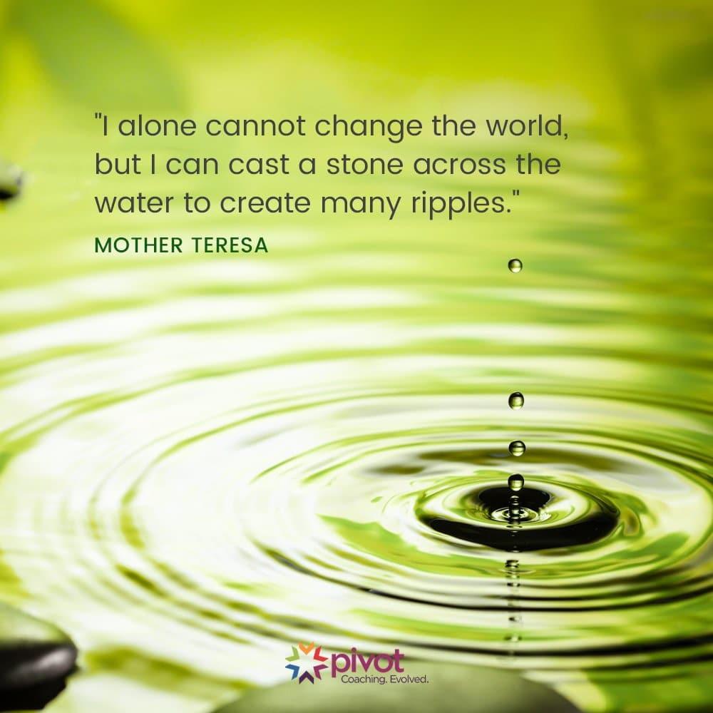 Meditation Moment from Mother Teresa about Change