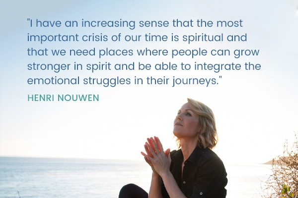 Meditation Moment From Henri Nouwen