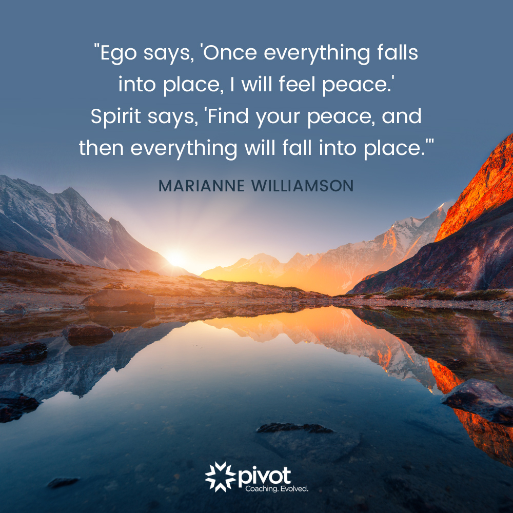 Meditation Moment From Marianne Williamson