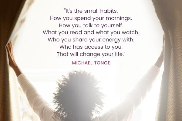 Meditation Moment From Michael Tonge