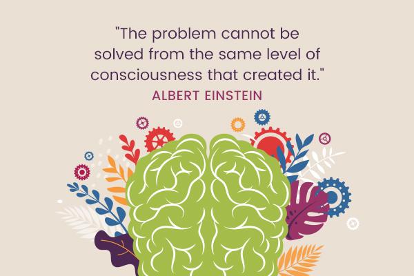 Meditation Moment From Albert Einstein